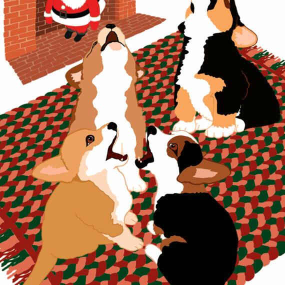 Four Baroo-ing Pups (204)