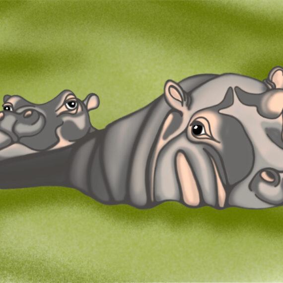 Motherhood - Hippo (030)
