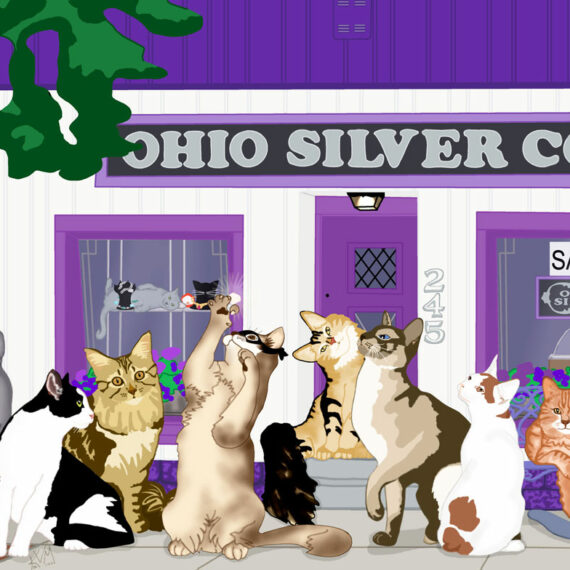 The Lone Ranger Shops Again ~ Ohio Silver (107)