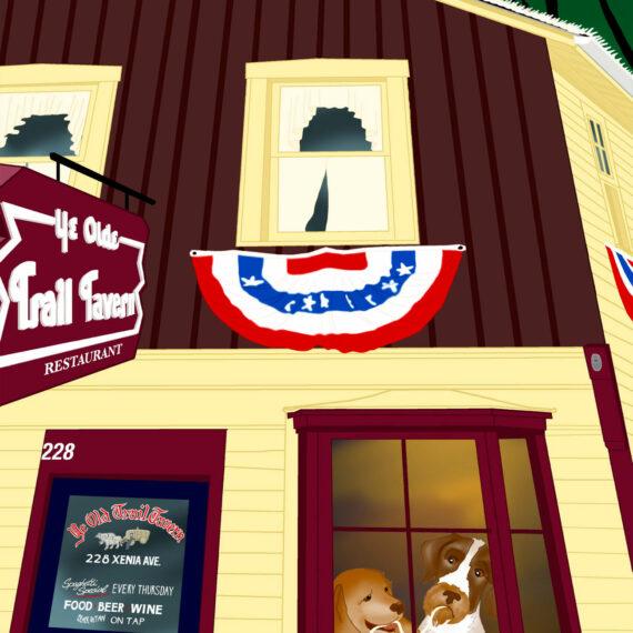 Thursday Night Spaghetti ~ Ye Olde Trail Tavern (124)