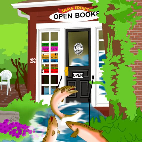 Salmon Eddies ~ Open Books (132)