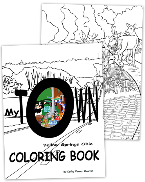 Coloring Book - My Town